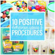 10 Positive Behavior Ideas and Procedures in the Classroom