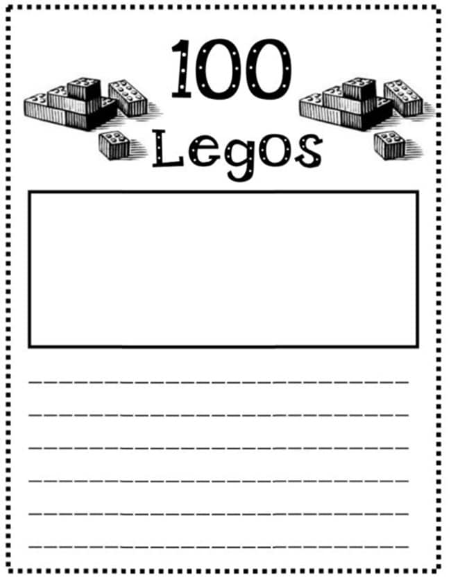 45 Best 100th Day of School Resources - 100 Legos - Teach Junkie