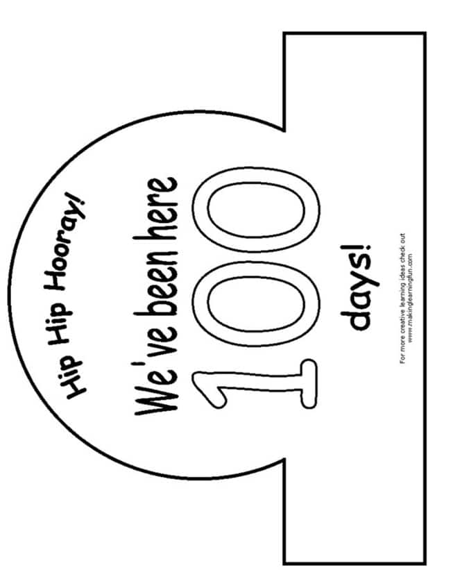 45 Best 100th Day of School Resources - 100th Day Crown