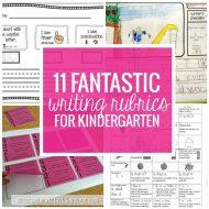 11 Fantastic Writing Rubrics for Kindergarten