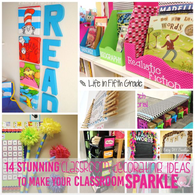 14 Classroom Decorating Ideas to Make Your Classroom Sparkle