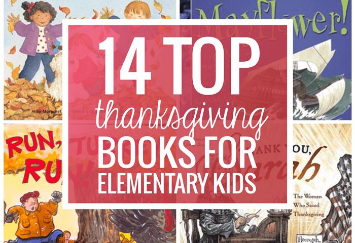 14 Top Thanksgiving Books for Elementary Kids