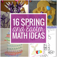 16 Spring and Easter Math Ideas