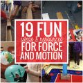 19 Fun Ideas and Resources for Force and Motion