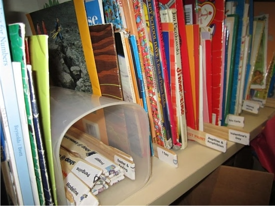Space Saving Solution for Book Storage