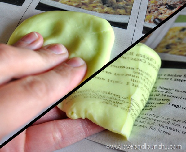 how to get silly putty out of upholstery