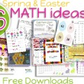 Teach Junkie: 16 Spring and Easter Math Ideas {Free Download}