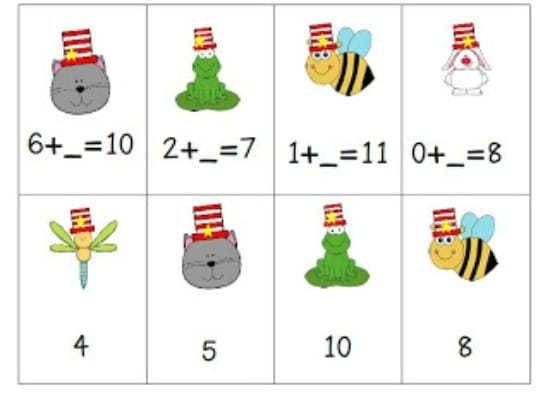 math worksheet : 6 dr seuss inspired math activities free download ...