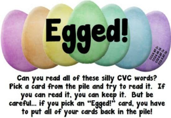 Teach Junkie: 6 Spring ELA Word Work Activities {Free Download} - Egged