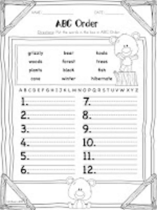 3 Spring Alphabetical Order Downloads for First Grade - Teach Junkie