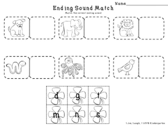 4 St Patricks Day Language Arts Free Download Teach Junkie – Ending Sound Worksheets