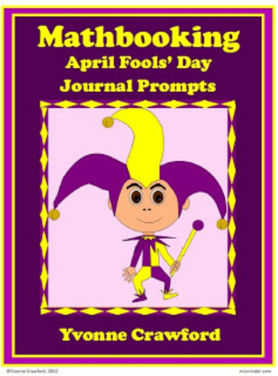 Teach Junkie: 16 Spring and Easter Math Ideas {Free Download} - April Fools Journal Prompts