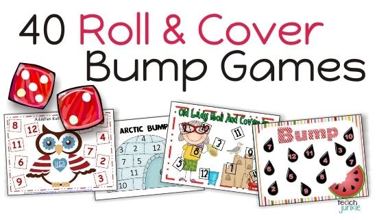 "Roll and Cover ""Bump"" Cool Math Games - Teach Junkie"