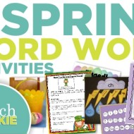 6 Spring ELA Word Work Activities {Free Download}