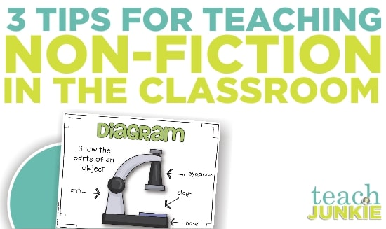 Teach Junkie: Teaching Common Core Non-Fiction - 3 Tips
