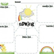 5 Spring Writing Templates {Free Download}