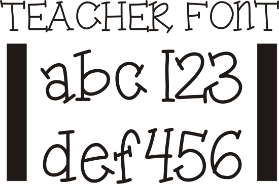 Crafty image with regard to font printable
