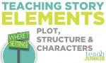 Teaching elements of a story first grade