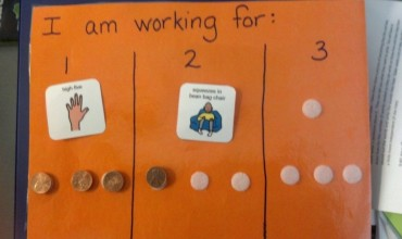 "Classroom Management Technique: ""I am working for"" Board"
