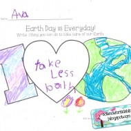 7 Fast Activities for Earth Day and Printables {Free}