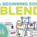Teach Junkie: 3 ELA Beginning Sounds and Blends Worksheets