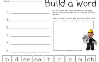 3 Vowel Pattern Worksheets {Free Download}