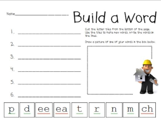 Worksheets Substitute Teacher Worksheets 98 first grade friendly teaching ideas teach junkie 3 vowel pattern worksheets free download