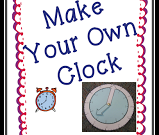 Teach Junkie: It's About Time! Create Your Own Clock
