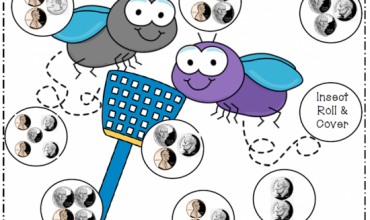 Spring Insect Coin Value Game {Free Download}