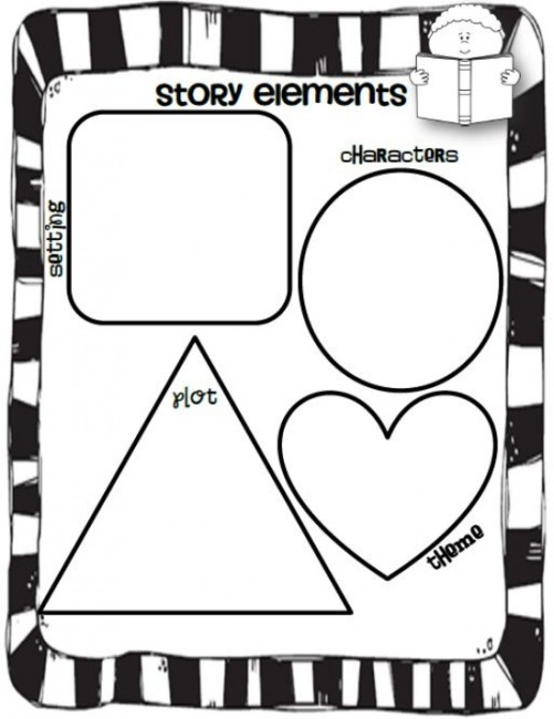 Identifying Story Elements Worksheet – Story Elements Worksheets