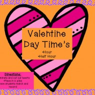 Valentine's Day Time {differentiated centers}