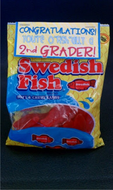 "Teach Junkie: 17 Simple End of the school Year Student Gifts and Writing Activities - o""fish""ally a second grader"
