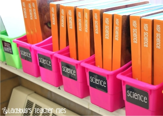 Teach Junkie: 21 Classroom Organization Labels and Tags - Editable Book Bin Labels