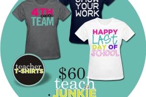 $60 Teacher T-Shirt Giveawaya