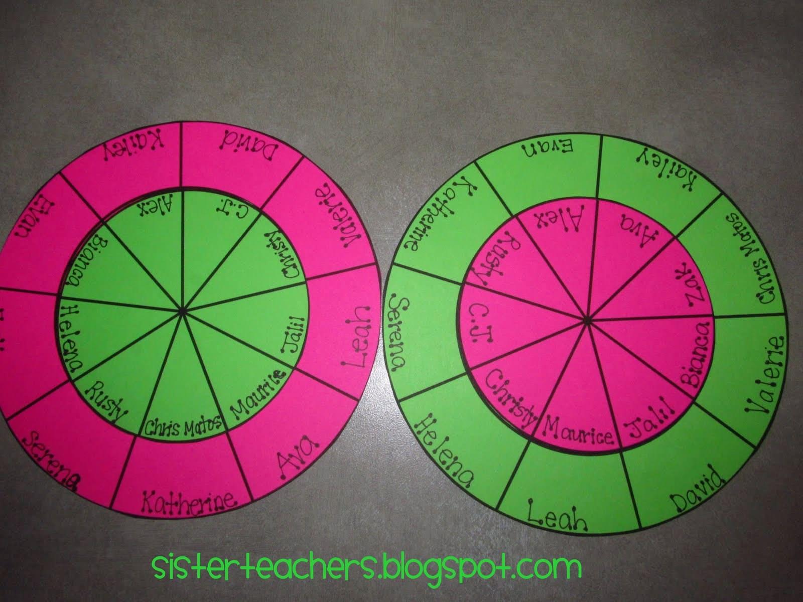 Picking Partners Made Simple Free Printable Teach Junkie