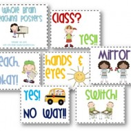 2 Classroom Management Expectations Poster Sets