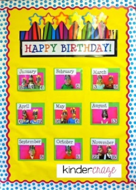 Classroom Birthday Ideas : Simple birthday celebrations and classroom