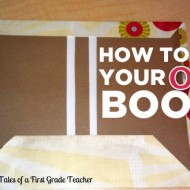 How to Bind Your Own Books {DIY}
