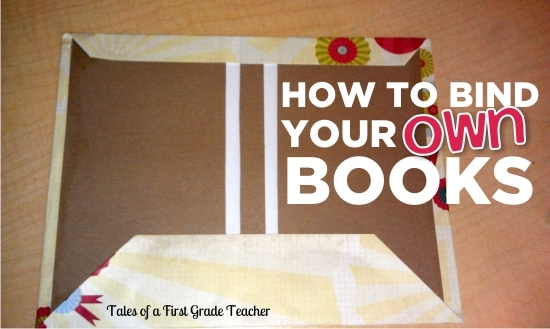 How to Bind Your Own Books in your classroom