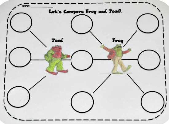 Printables Frog And Toad Worksheets 25 easy frog and toad ideas activities teach junkie comparison