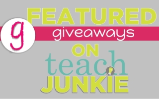 Teach Junkie: Featured Giveaways