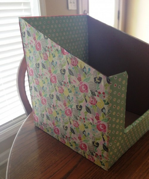 DIY File & Paper Organizer