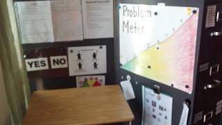 Create a Safe Spot {Classroom Setup}