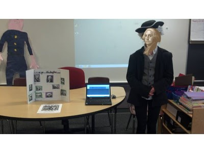 Creative Teaching Ideas - American Hero Project and Wax Museum