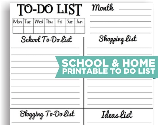 to do list or to do list