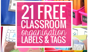 21 Free Classroom Organization Labels and Tags