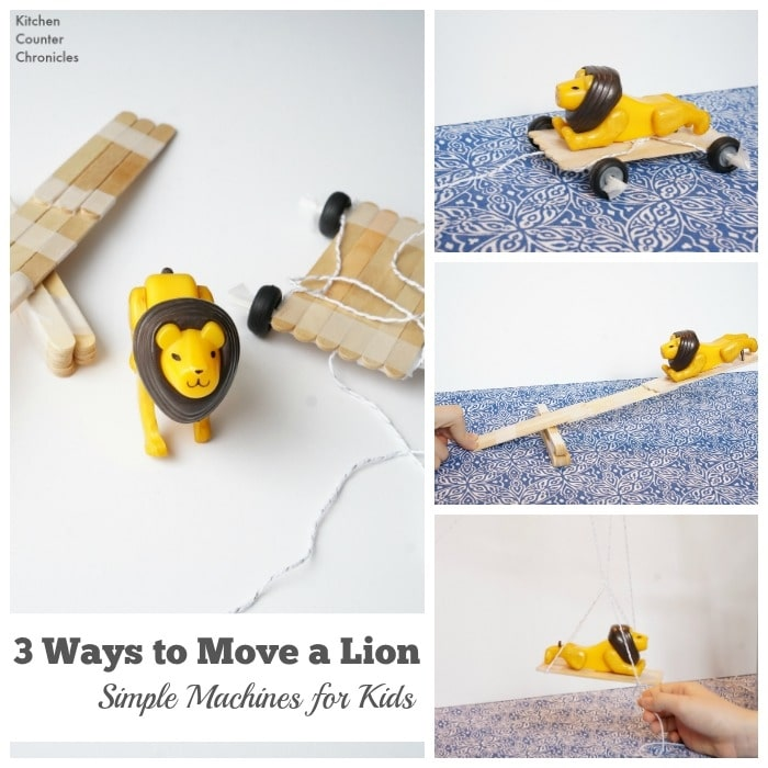 24 Elementary Force and Motion Experiments and Activities -simple machines challenge