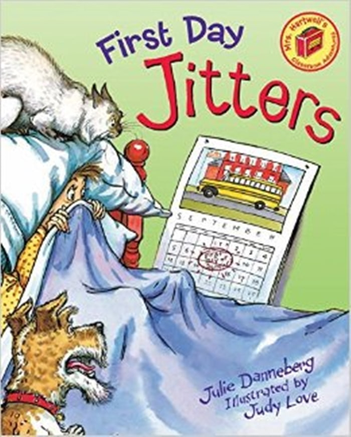 26 Favorite Back to School Books for Kids - First Day Jitters