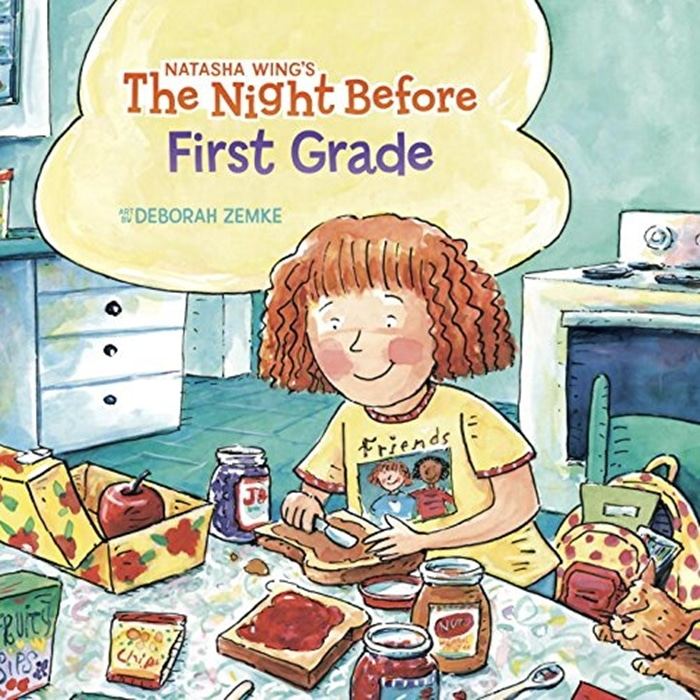 26 Favorite Back to School Books for Kids - The Night Before School Books