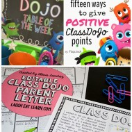 27 Amazing Class Dojo Printables and Ideas